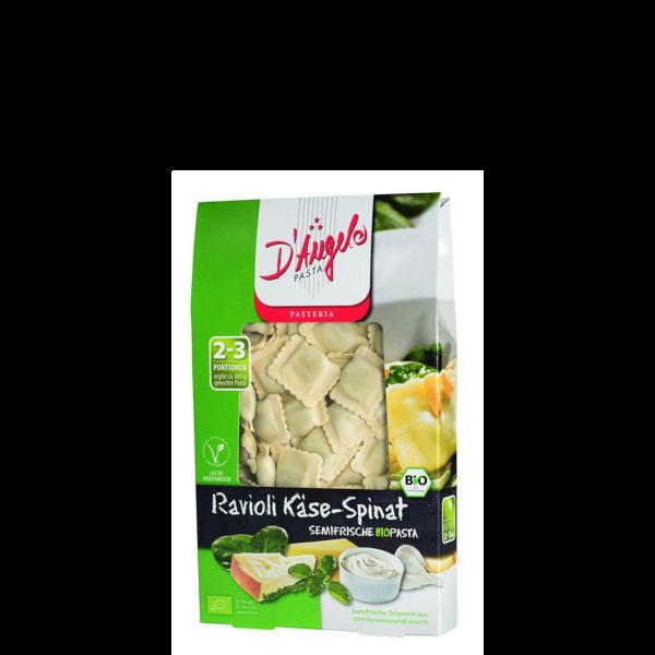 BIO Ravioli Käse-Spinat