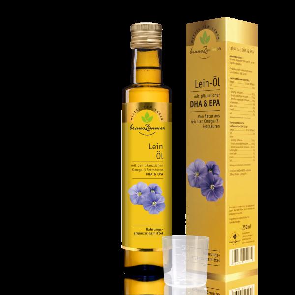 BIO-Leinöl mit DHA & EPA 250ml