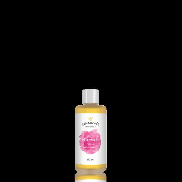 Massageöl Harmonie mit Rosenquarz 140ml