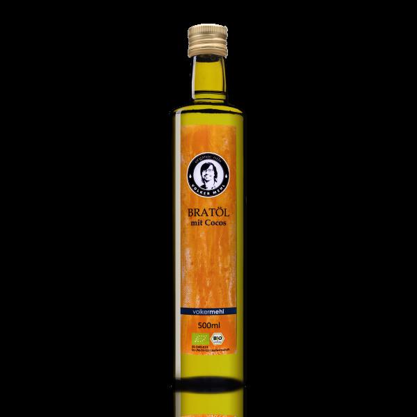 Bratöl mit Cocos BIO 500ml